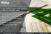 CAD Drafting Services - CAD Drafting Companies in India, abbotsford